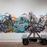 SENSELESS DRAWING BOT / So Kanno + yang02 / 2011, installation