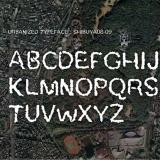 Urbanized Typeface / 2009, Font data, Installation